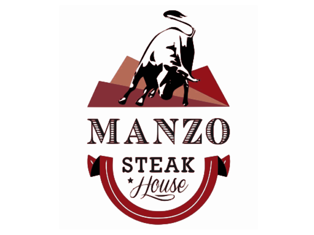 Manzo Steak House logo