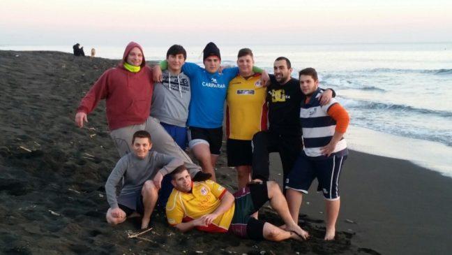 quelli che lo Snow Rugby a Tarvisio