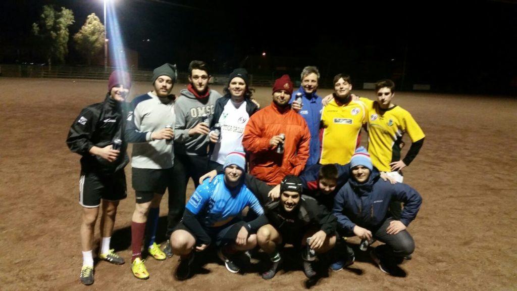 allenamento Unione Rugby Ladispoli 16 01 2017