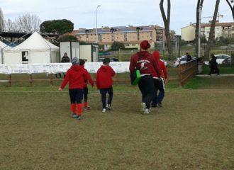 I bambini dell'Unione Rugby Ladispoli