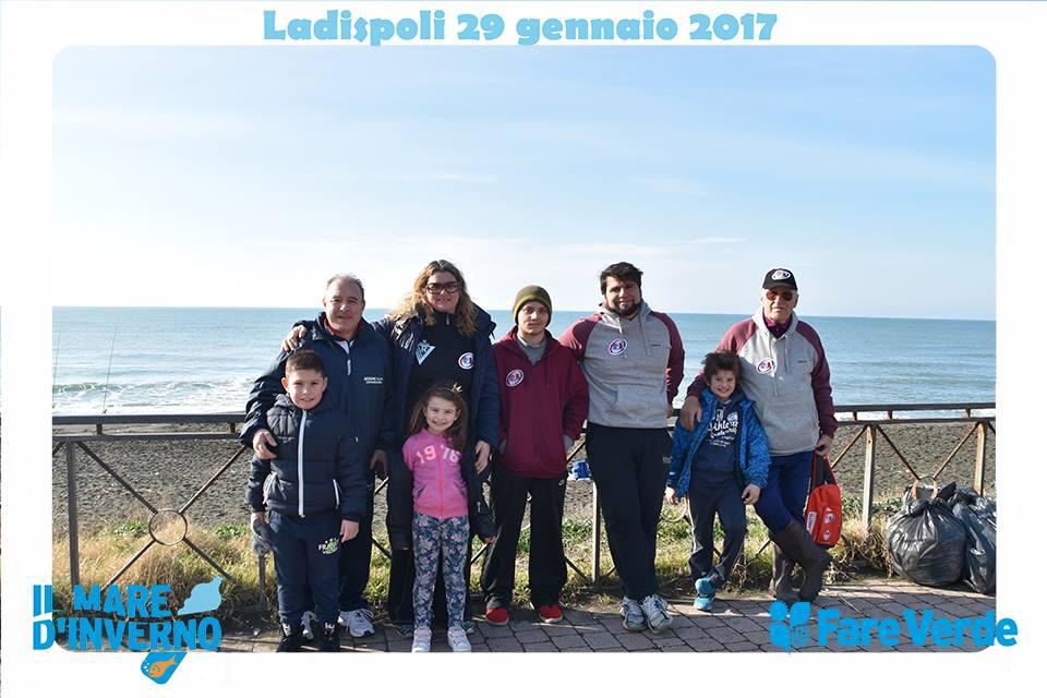 Fare Verde, Il mare d'inverno insieme all'Unione Rugby Ladispoli
