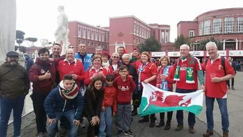 Gli amici gallesi del Ladispoli