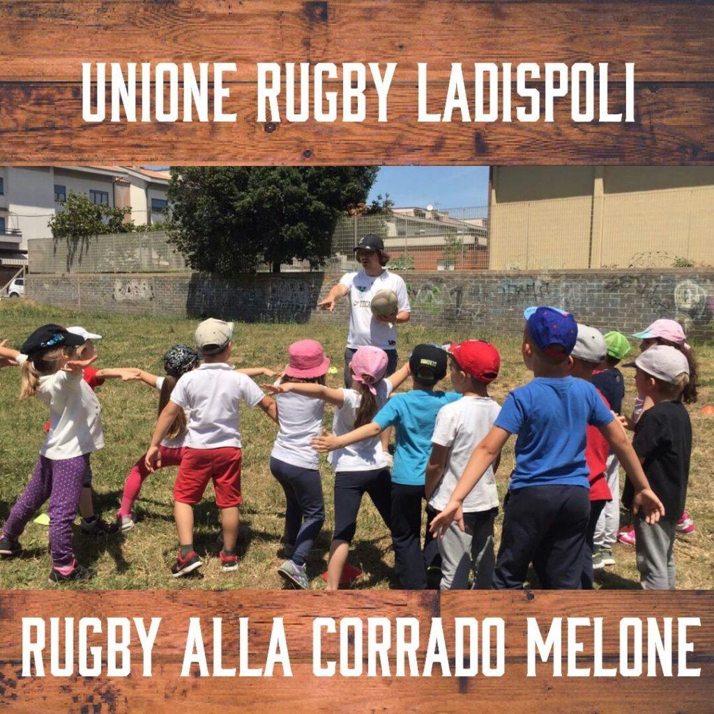 Rugby nelle scuole con l'Unione Rugby Ladispoli