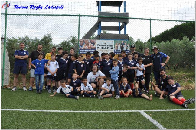 Minirugby Unione Rugby Ladispoli: festa di fine anno