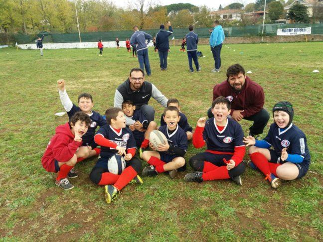 Unione Rugby Ladispoli_concentramento Oriolo U8 e U10