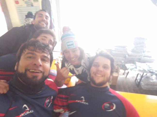 Unione Rugby Ladispoli con Paul Griffen