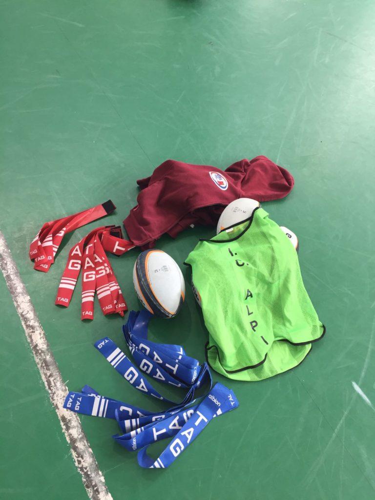 Unione Rugby Ladispoli scuole medie Ilaria Alpi