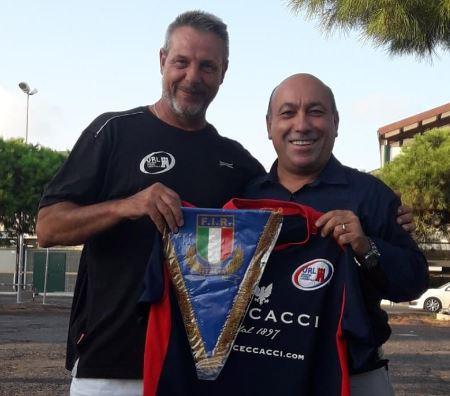 Antonio Luisi - FIR Lazio e Fabio Giannini U.R.L.