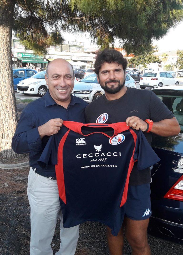 Antonio Luisi - FIR Lazio e Marco Cavicchia Unione Rugby Ladispoli
