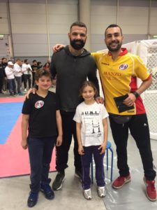 Unione Rugby Ladispoli con Alessio Sakara