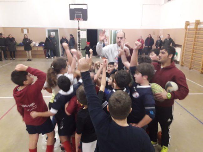 Unione Rugby Ladispoli e Dinamo Basket
